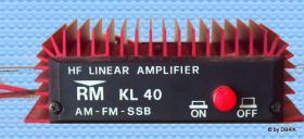 Kurzwellen Leistungsverstärker RM KL 40