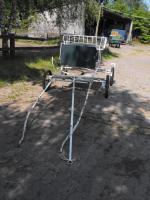 Kutsche mit Zubehör und Ersatzteilen