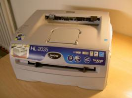 LASERDRUCKER SW - Brother HL 2035
