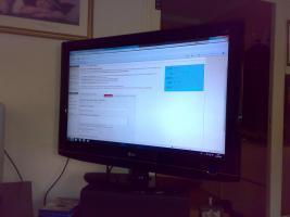 LCD Fernseher von LG in 37''