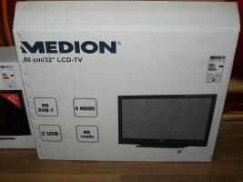 Foto 2 LCD-TV 80cm mit DVB-T+HDMI+USB+ HD Ready Neu
