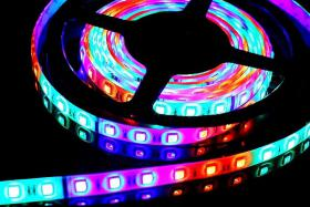 Foto 2 LED Magic Strip Set 60LED/m - 5m Rolle m. Netzteil & Kontroller