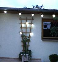 Solar-Lichterkette mit Softkugeln