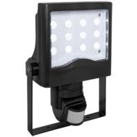 LED-Strahler mit Bewegungsmelder, 20W schwarz