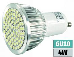 LED-Strahler ''LS-570'' GU10, 230V, 70 SMD LEDs, 385Lm