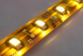 Foto 2 LED Strips 120 LED/m RGB Komplettset -Netzteil & Dimmer