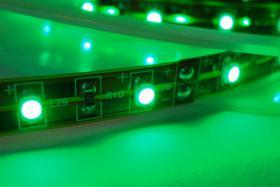Foto 5 LED Strips 120 LED/m RGB Komplettset -Netzteil & Dimmer