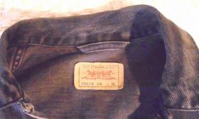 Foto 3 LEVI'S Jeansjacke dunkel blau , neu
