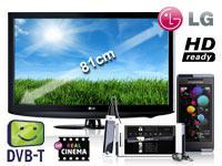 LG 32LD320 81 cm (32 Zoll) LCD TV mit Vertrag+Sony Ericsson Aino U10i luminous white+Sony Ericsson A