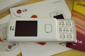 Foto 2 LG KG800 White Chocolate , OVP, Zubeh�r , o.Vertrag , o.Simlock