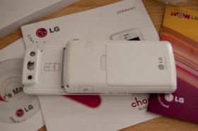 Foto 3 LG KG800 White Chocolate , OVP, Zubeh�r , o.Vertrag , o.Simlock