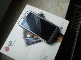LG KM900 Arena Smartphone silber