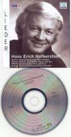 ''LIEDER'' eine CD mit dem Tenor Hans-Erich Halberstadt