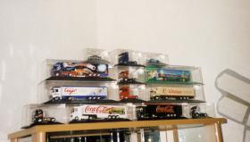 Foto 2 LKW-Sammlung Werbetrucks!!! H0 Herpa, AMW, Albedo, Wicking usw keine Metallmodelle