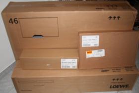 LOEWE Individual 46 Slim Frame LED400/CI+/DR+/3D LCD-TV Alu Silver