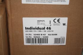 Foto 2 LOEWE Individual 46 Slim Frame LED400/CI+/DR+/3D LCD-TV Alu Silver