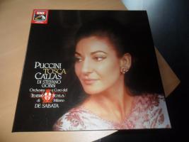 LP Album Puccini Tosca