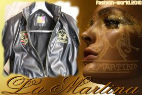 La Martina Lederjacke Limited Edition Gr. M, L, XL, XXL, XXXL Neu