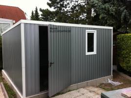Foto 2 Lagerraum, Fertiggarage, Gartenhütte, blechgarage, Gartenschuppen, lagerbox, Garagen