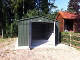 Foto 3 Lagerraum, Fertiggarage, Gartenhütte, blechgarage, Gartenschuppen, lagerbox, Garagen