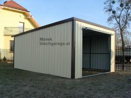 Foto 5 Lagerraum, Fertiggarage, Gartenhütte, blechgarage, Gartenschuppen, lagerbox, Garagen