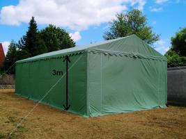 Foto 5 Lagerzelt mobiler Unterstand 6x12 m stabil und wasserdicht