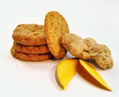 Laktosefrei Mango/Ingwer Cookies mmm.