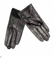 Lammnappa-Handschuhe schwarz - ADAX - Größe 8 - Neu & OVP