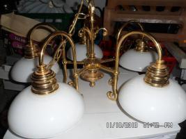Foto 2 Lampen vergoldet