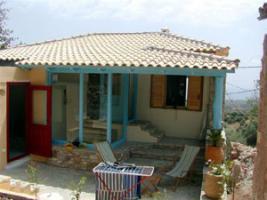 Landhaus Neubau aus Naturstein nahe Petalidi/Griechenland