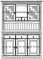 Foto 6 Landhaus Programm CORDOBA, Kiefer massiv, Farbton Kolonial lackiert