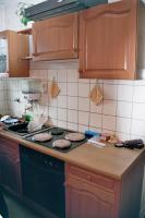 Foto 4 Landhausküche mit Herd und Kühlschrank