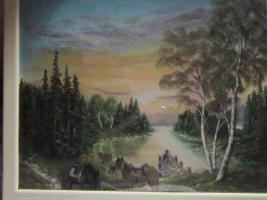 Landschaftsbilder in Öl