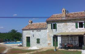 Landsteinhaus mit Pool zu vermieten ( Kroatien - Istrien )