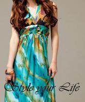 Foto 2 Langes, schulterfreies Kleid