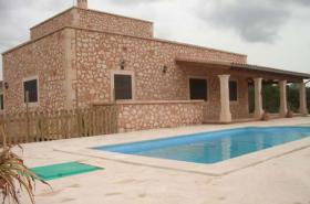 Langzeitmiete Mallorca: 300 m2 Pool Finca mit Meerblick zwischen Ses Salines und Colonia Sant Jordi