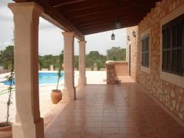 Foto 2 Langzeitmiete Mallorca: 300 m2 Pool Finca mit Meerblick zwischen Ses Salines und Colonia Sant Jordi