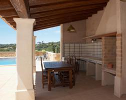 Foto 4 Langzeitmiete Mallorca: 300 m2 große gemütliche Pool Finca nahe Felanitx mit Panoramablick auf Kloster San Salvador
