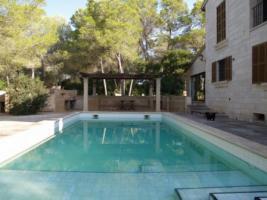 Foto 2 Langzeitmiete Mallorca: 340 qm Finca mit Pool und Meerblick zwischen Ses Salines und Colonia Sant Jordi