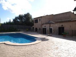 Foto 2 Langzeitmiete Mallorca: Alte renovierte Pool Finca mit Heizung in Cala Mondrago, 1 Km bis zum Sandstrand
