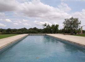 Foto 3 Langzeitmiete Mallorca: Antike 390 m2 große Finca mit 60 m2 Pool, Heizung und Pferdehaltung zwischen Felanitx und Villafranca