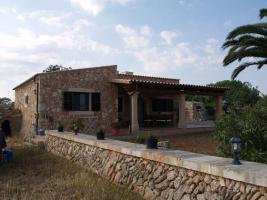 Foto 2 Langzeitmiete Mallorca: Kleine möblierte Natursteinfinca nahe Santanyi - Pferdehaltung möglich