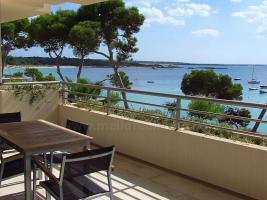 Langzeitmiete Mallorca: Luxus Apartment mit eigenem Fahrstuhl und Hafen Meerblick in Colonia Sant Jordi