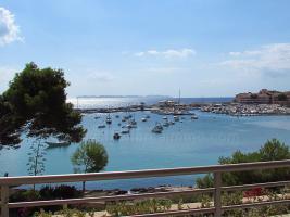 Foto 2 Langzeitmiete Mallorca: Luxus Apartment mit eigenem Fahrstuhl und Hafen Meerblick in Colonia Sant Jordi
