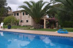 Langzeitmiete Mallorca: Naturstein Pool Finca mit Heizung nahe Cas Concos