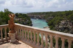 Langzeitmiete Mallorca: Pool Chalet in erster Meereslinie auf den Klippen von Cala Pi