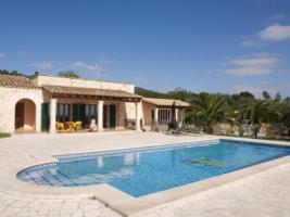 Foto 2 Langzeitmiete Mallorca: Pool Finca mit Casita und Meerblick nahe Santanyi