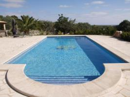Foto 3 Langzeitmiete Mallorca: Pool Finca mit Casita und Meerblick nahe Santanyi