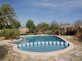 Foto 3 Langzeitmiete Mallorca: Renovierte Meerblick Pool Finca mit 2 Gäste Casitas und 60 qm Wohnküche im Patio strandnah bei Porto Colom