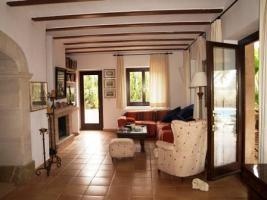 Foto 5 Langzeitmiete Mallorca: Renovierte Meerblick Pool Finca mit 2 Gäste Casitas und 60 qm Wohnküche im Patio strandnah bei Porto Colom